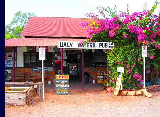 Daly Waters pub, outback Australia.