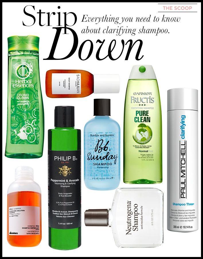 The sccop on clarifying shampoo
