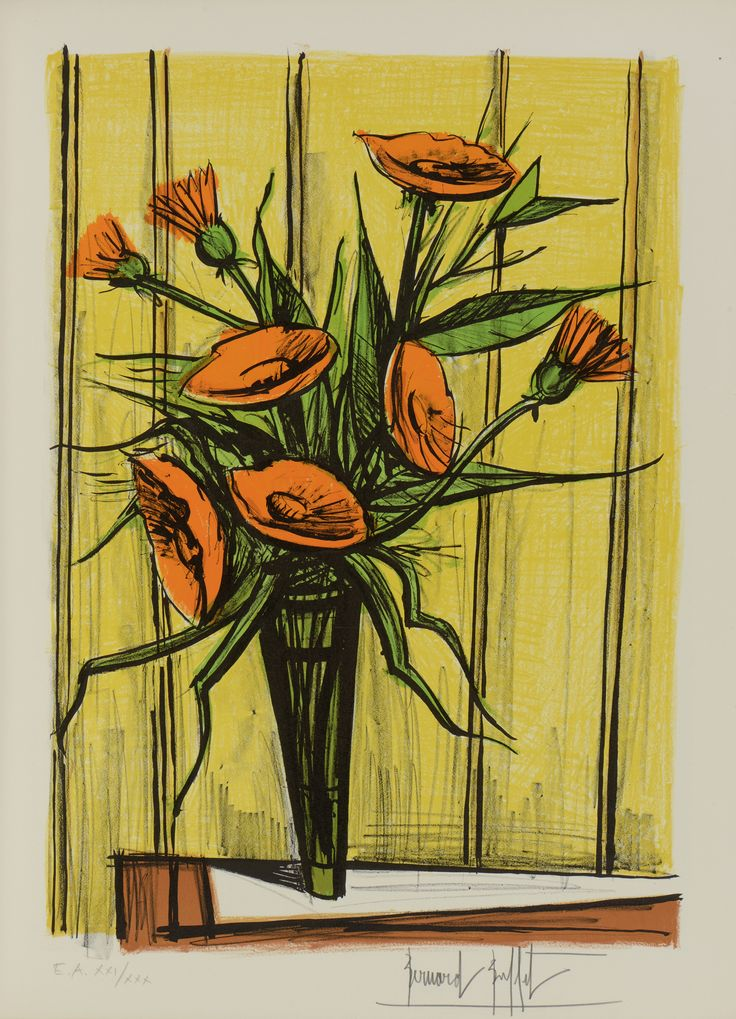 Estampe/Affiche - BUFFET Bernard (1928-1999) - Artprecium | Peinture contemporaine, Les arts ...