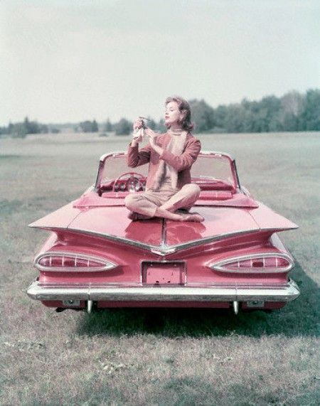 1959 Impala Convertible, ca. 1958. Photo John Rawlings