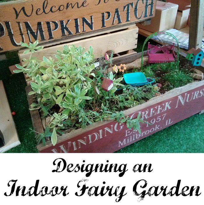 Designing an Indoor Fairy Garden