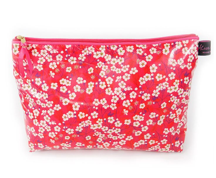 Mitsi Hot Pink Wash Bag