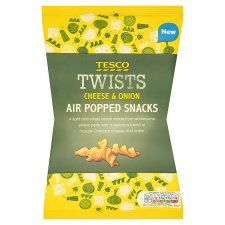 Tesco Cheese And Onion Twists 80G