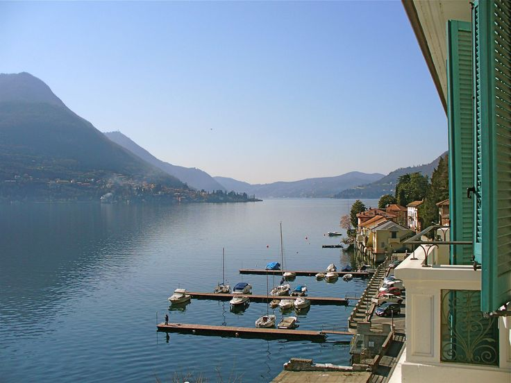 5 Balconies, 10 meters to Lake Como! Spectacular Water Views, Pool/Gym