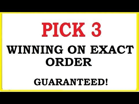New Pick 3 Lottery Technique to win on Exact Order Guaranteed - (More info on: https://1-W-W.COM/lottery/new-pick-3-lottery-technique-to-win-on-exact-order-guaranteed/)