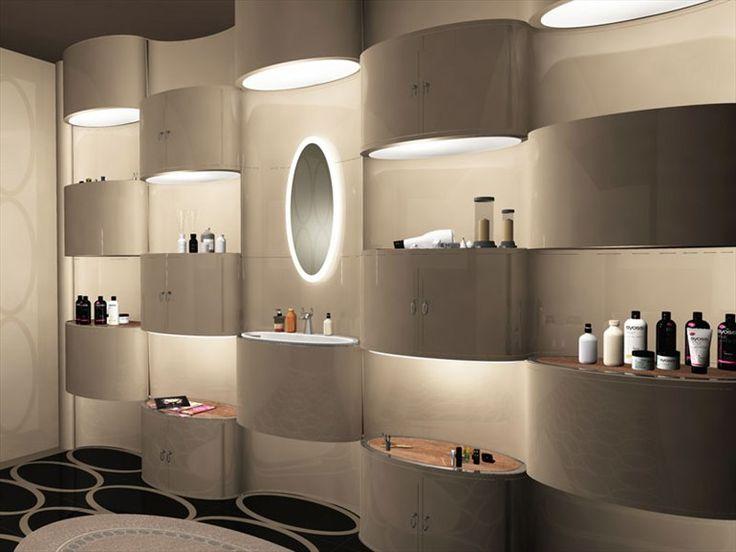 Oval Room Bathroom Cabinet By Visionnaire Design Stefano Pirovano