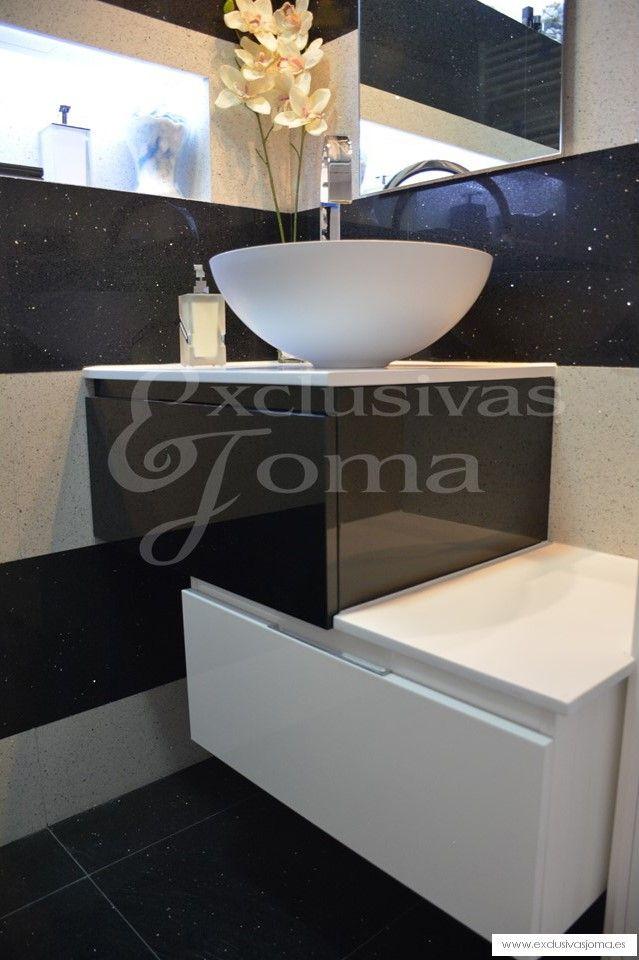 Muebles De Baño Faro:de espejo de Faro Cisterna empotrada Geberit Duofresh con pulsador de