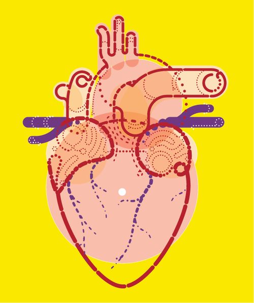 Download Fortune on Behance | Heart art, Heart illustration ...