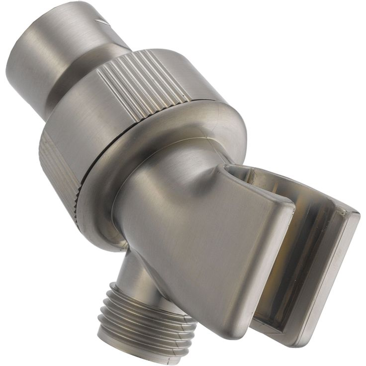 Delta Stainless Steel Finish Adjustable Shower Arm Mount for Hand Shower 561311