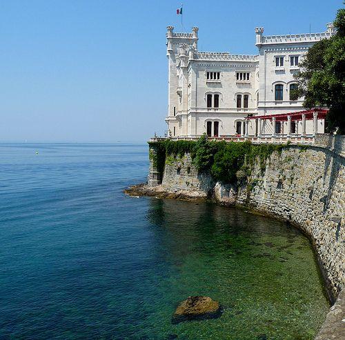 Castello di Miramare, Trieste Italy by Federica