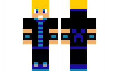 minecraft skin cool-blue-guy Check out our YouTube : https://www.youtube.com/user/sexypurpleunicorn