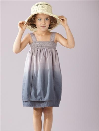 Vertbaudet Mädchen Kleid (Dress). Schickes Trägerkleid für modebewusste Mädchen.