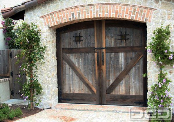 Dynamic Garage Door Custom Architectural Garage Door
