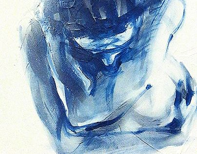 """Check out new work on my @Behance portfolio: """"Blue squatting"""" http://on.be.net/1LAwogZ"""