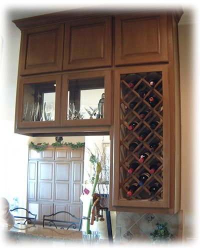 1000+ Ideas About Kitchen Wine Racks On Pinterest