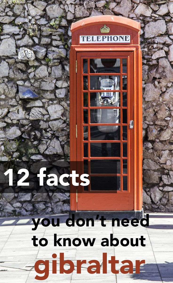 How much do you know about Gibraltar? It's not your typical kind of place and it has plenty of oddities. Here are 12 things you don't need to know about Gibraltar!