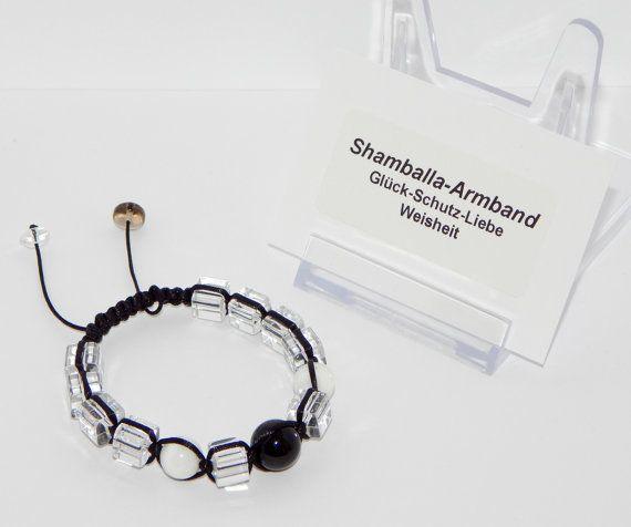 Shamballa bracelet with genuine precious Crystal by EriGeDesign