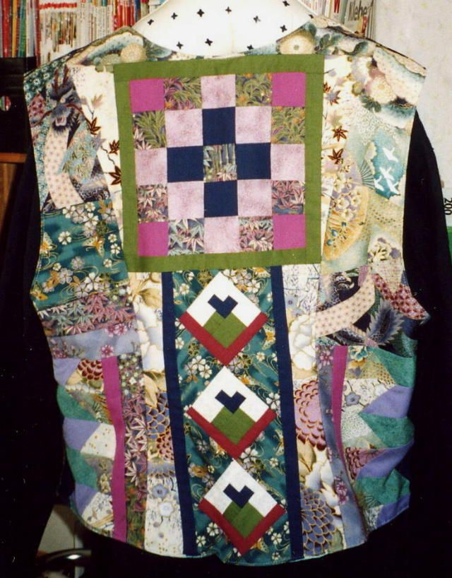 522 best QUILTED CLOTHES images on Pinterest | Patchwork, Quilted ... : wearable quilt - Adamdwight.com