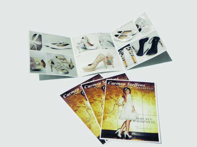 Folheto de Moda