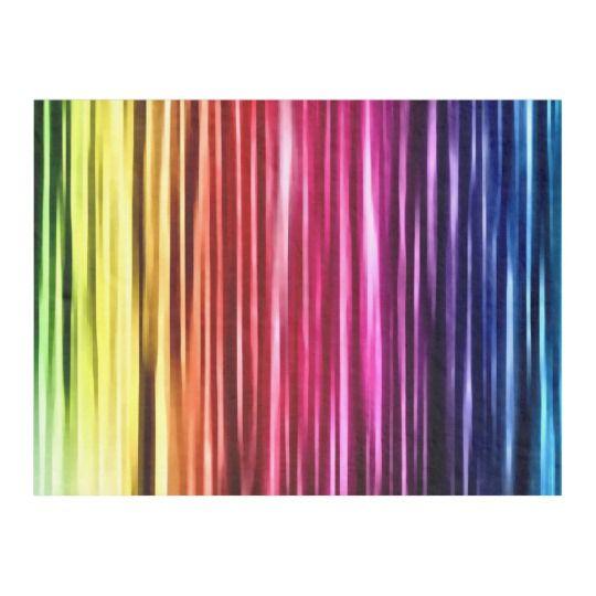 Liquid Rainbow Airbrush Art Fleece Blanket