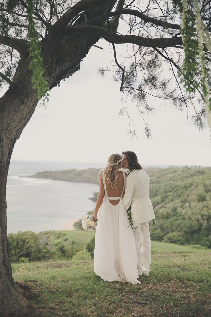 Model Tori Praver + Surfer Danny Fuller's Bohemian Kauai Wedding | Kauai, Hawaii Wedding
