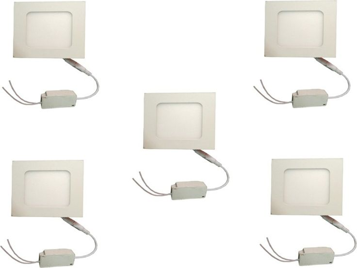 Galaxy Galaxy 6 watt Led panel light Square,Cool white with 2 years warranty Set of 5 Recessed Ceiling Lamp Price in India - Buy Galaxy Galaxy 6 watt Led panel light Square,Cool white with 2 years warranty Set of 5 Recessed Ceiling Lamp online at Flipkart.com