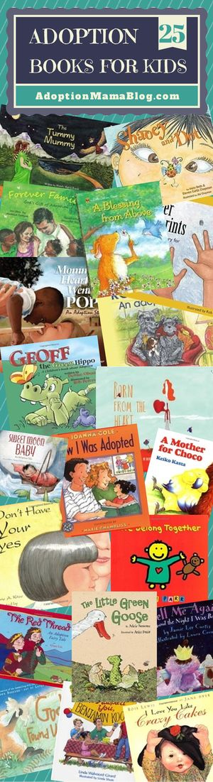 25 kids books on adoption