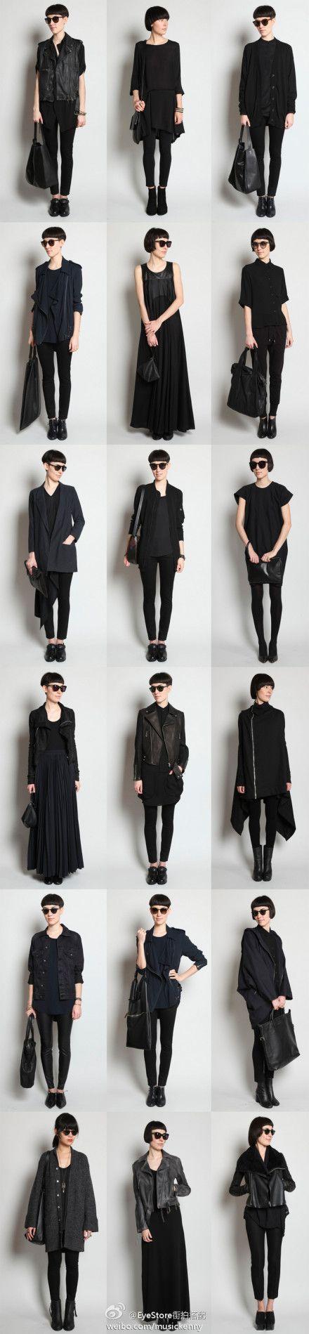 i love black: