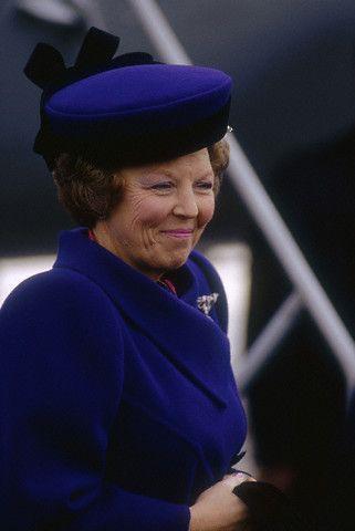 Queen Beatrix, March 1991 | Royal Hats