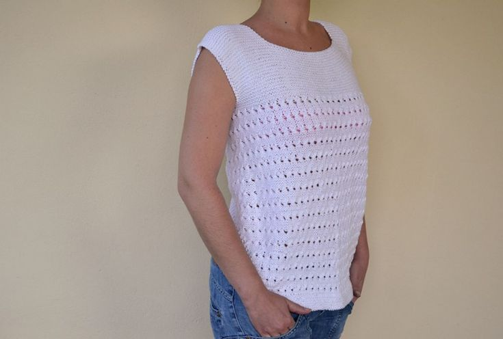 M s de 1000 im genes sobre punto dos agujas en pinterest - Patrones jerseys de punto hechos a mano ...