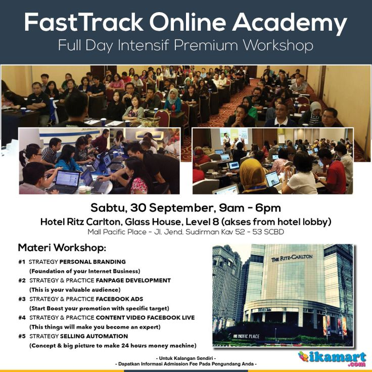 Fast Track Online Academy - Praktek Cepat Bareng Mentor | 08158165028