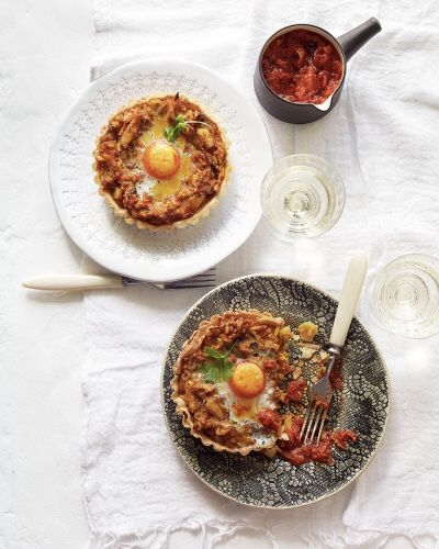 #ChristmasRecipes  >  After-#Christmas Kedgeree #Brunch #Tarts with Melia Extra Virgin #OliveOil  >  #RECIPE:  https://www.jamieoliver.com/recipes/fish-recipes/christmas-kedgeree-breakfast-tarts/