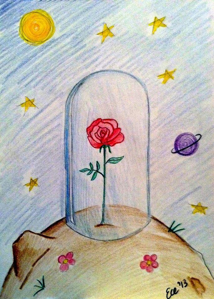 Resultado de imagen de la rosa del petit prince