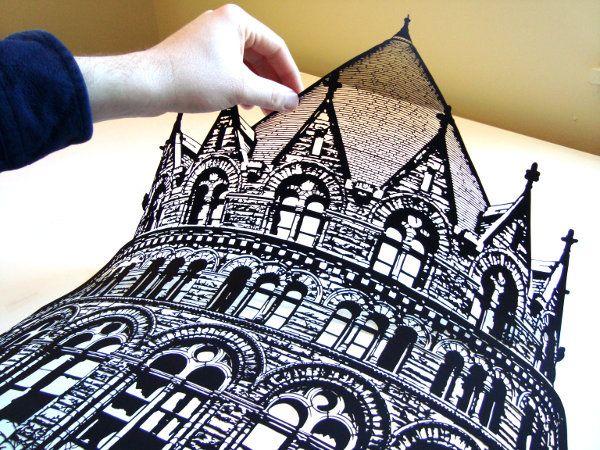 Joe Bagley's Hand-Cut Paper Art -- amazing!!: Paper Cut, Artists, Joebagley, Papercutting, Black Paper, Cut Paper Art, Paperart, Cut Outs, Joe Bagley