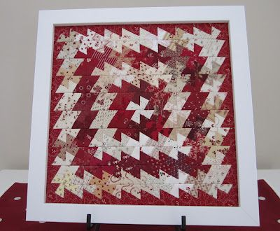 Beautiful twister quilt - also a heart option on the page.