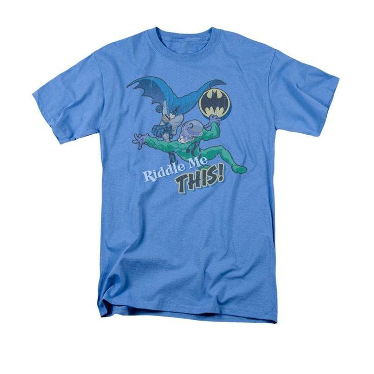 Batman - The Riddler Riddle Me This Adult Regular Fit T-Shirt