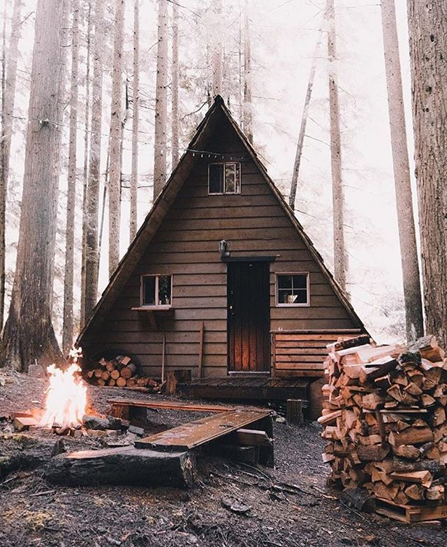 Cabin Life Photo by @robstrok #modernoutdoorsman