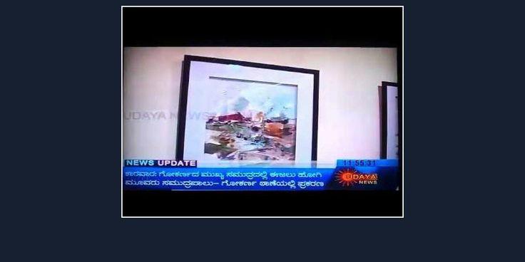 manoharkpainting, manohar painting, manohar on udayatv #Creative #Art #Painting @touchtalent.com