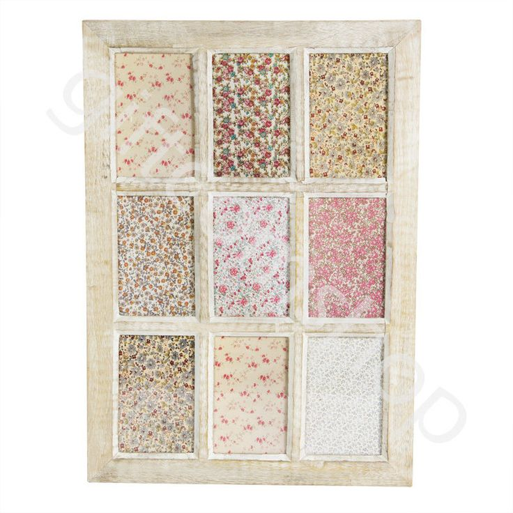 Large 9 Multi Photo Frame Window Picture Photo Frame Shabby Chic Home Decoration in Home, Furniture & DIY, Home Decor, Photo & Picture Frames | eBay