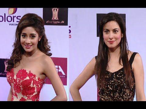 Tina Dutta and Shraddha Arya beautiful at Colors Television Style Awards 2015. http://youtu.be/cC8yDia4qSo #tinadutta #shraddhaarya