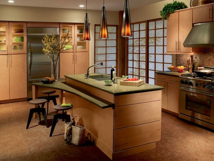 these waypoint living spaces style 730s cabinets in maple