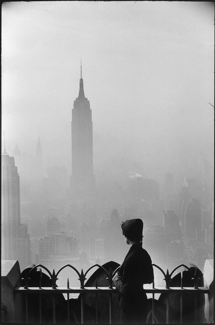 Title page photograph samuel h gottscho s from river house cloud - New York City 1955 Photo By Elliott Erwitt From Flashofgod