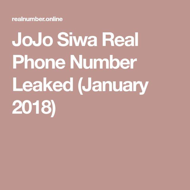 JoJo Siwa Real Phone Number Leaked (January 2018)