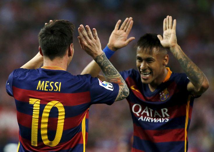 """Neymar elogia """"contagiante"""" Messi e revela zoação em cobrança de falta #globoesporte"""