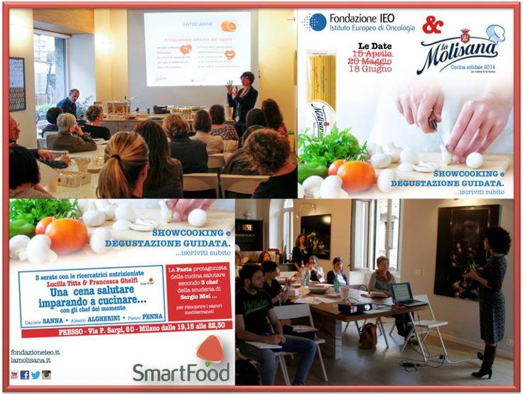 Corsi di cucina SmartFood/La Molisana