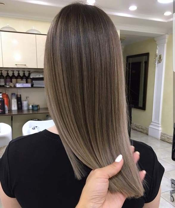 Hairstyles trends 2018 A great way to get natural-looking highlights