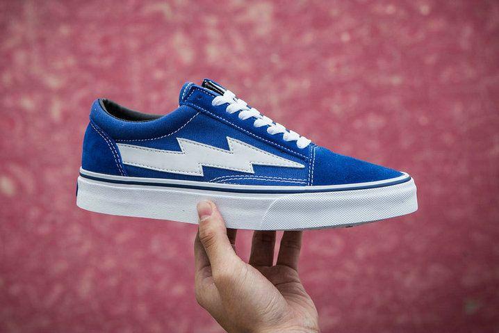 Revenge X Storm Ii Vol 1 Vans Old Skool Blue White Gd116 Rsfw17fw000 Skate Shoe Vans All Blue Vans Vans Vans Old Skool