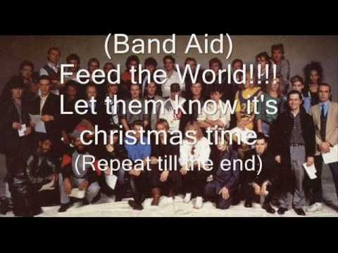 ▶ Band Aid - Do they know it's christmas lyrics with pics - YouTube