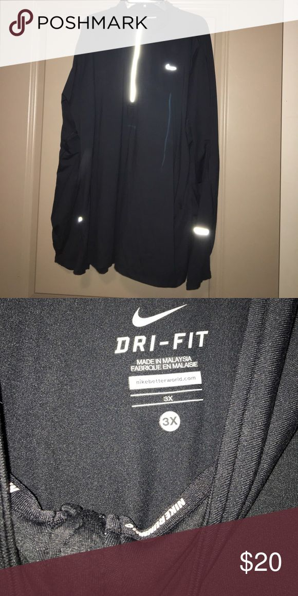 Nike Running Jacket Only worn once and in perfect condition! Nike Jackets & Coats Lightweight & Shirt Jackets