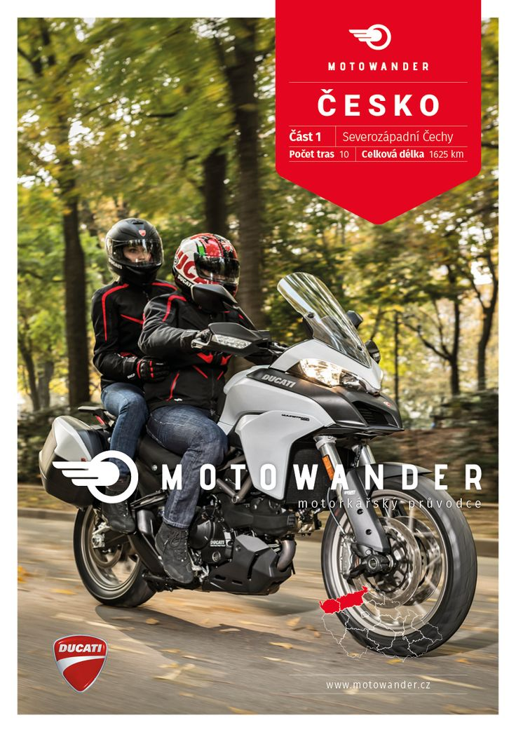Motoprůvodce po ČR, 1. část / Motorcyclists' Guide to the Czech Republic, part 1